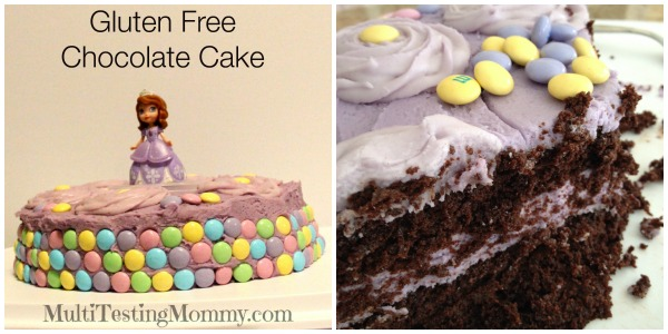 Gluten Free Chocolate Cake 1c