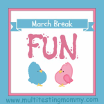 March Break Activities for Kids