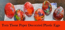 Torn Tissue Paper Eggs