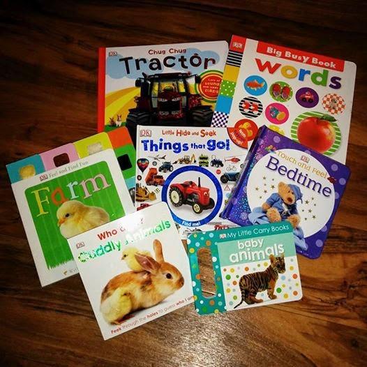 DK baby books