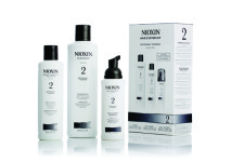 healthy scalp with nioxin products