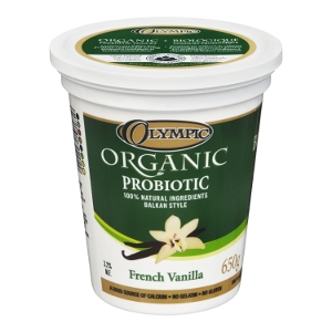 Olympic Dairy Organic French Vanilla 3.2 Probiotic Yogurt