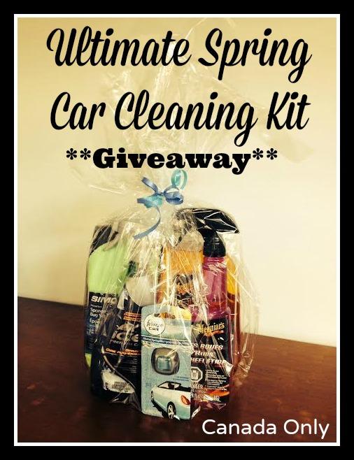 Spring Car Cleaning Kit