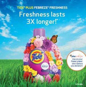 Tide Plus Febreze Freshness