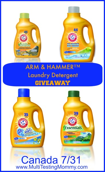 Arm and Hammer Giveaway