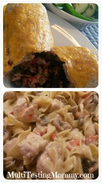 Burrito and Stroganoff