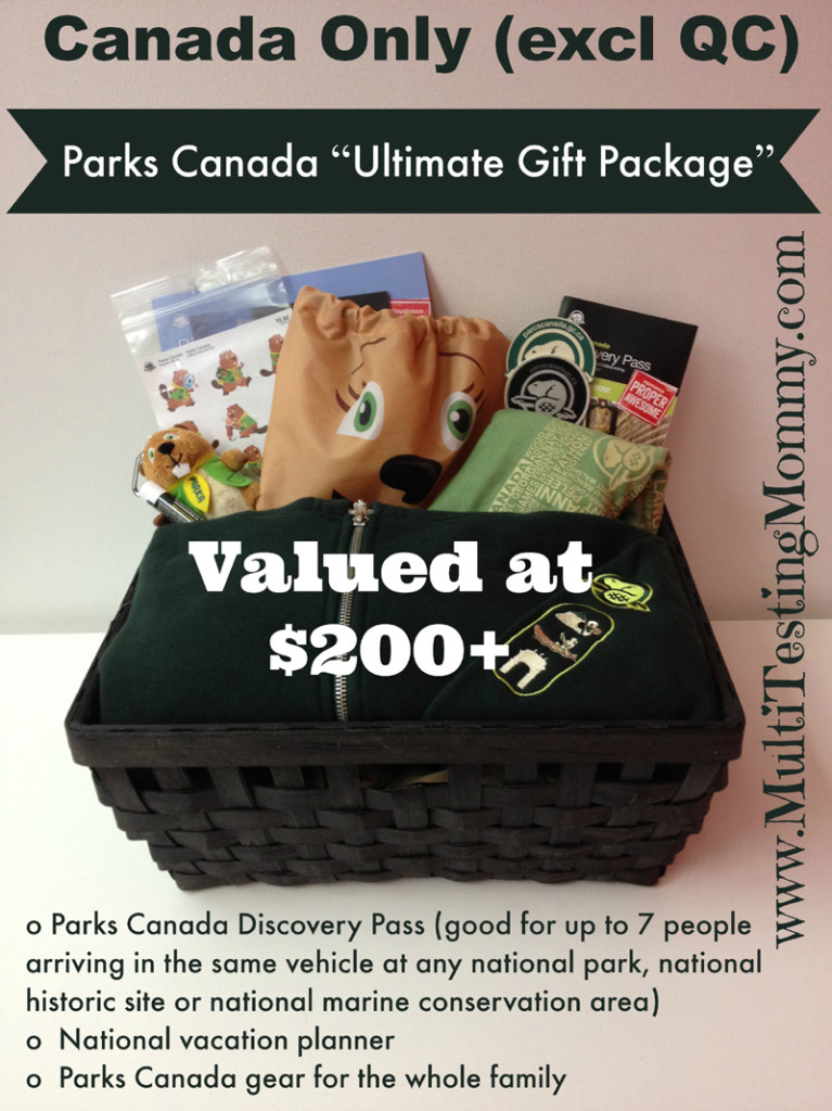 Parks Canada Giveaway