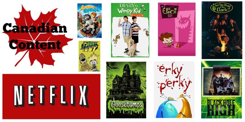 Big Kid Canadian Content Netflix Shows
