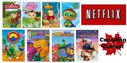 Little Kid Canadian Content Netflix Shows