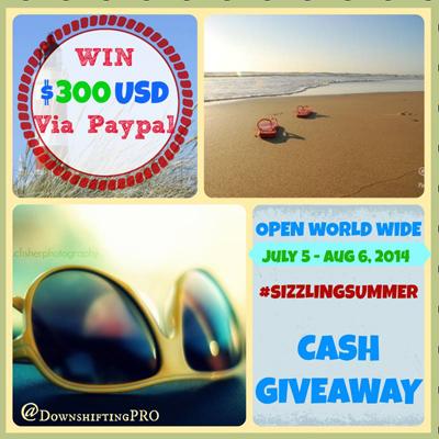 Summer Cash Giveaway Image
