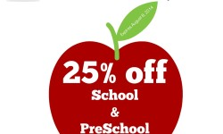 Back to School Label Sale