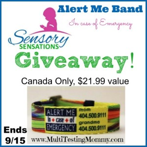 Alert Me Band Giveaway