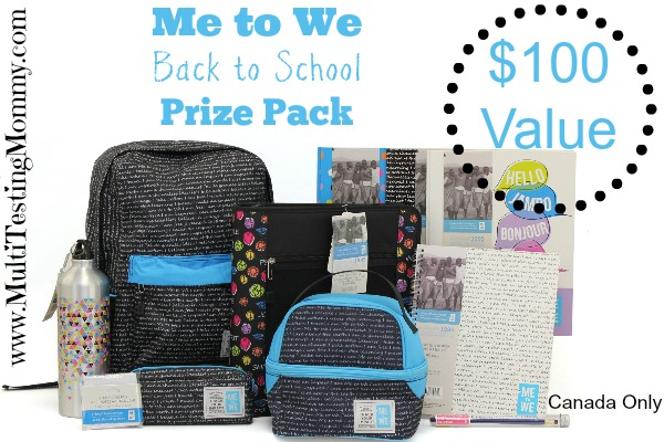 Back to School Prize Pack