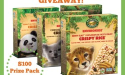 EnviroKidz Back to School Snacks Giveaway - prize graphic