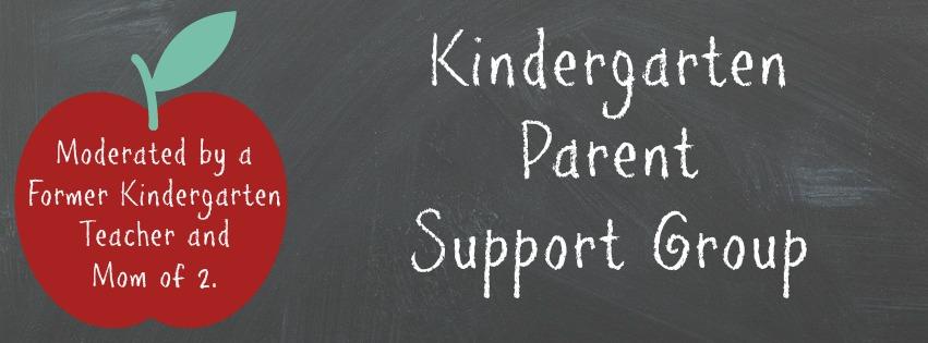 Kindergarten Parent Support Group