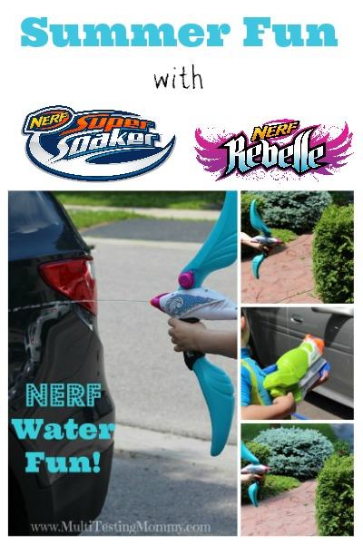 Nerf water Fun