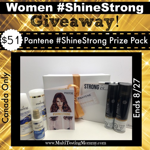 Shine Strong Giveaway