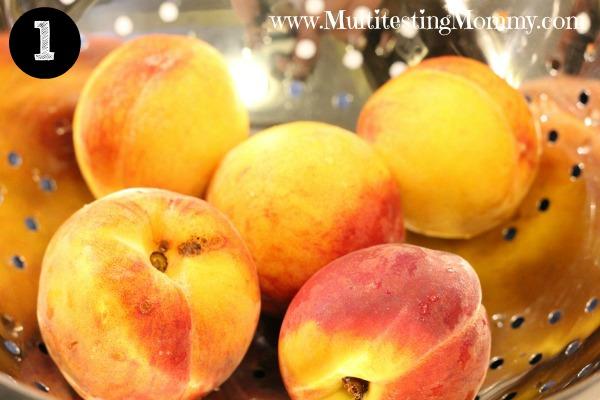 Skinning Peaches 1