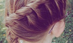 side braid hair style