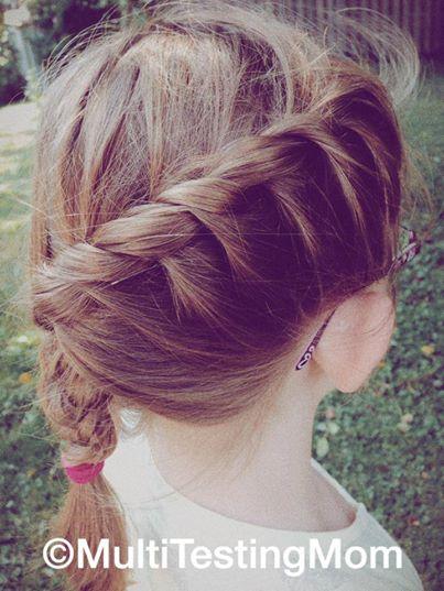 side braid hair style