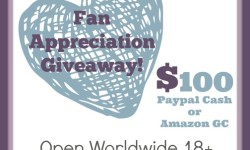 Fan Appreciation Giveaway 9-28
