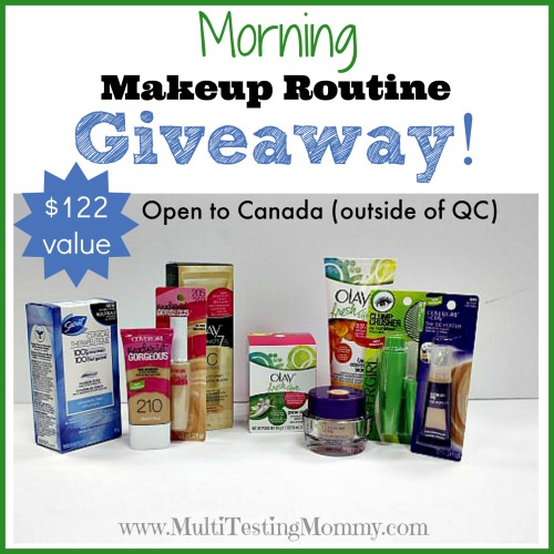 Morning Makeup Routine Giveaway