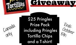 Pringles Tortillas Giveaway