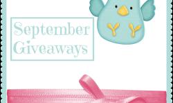 September Giveaways