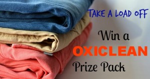 Oxi Clean Giveaway