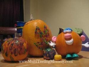 Halloween Kid Pumpkins