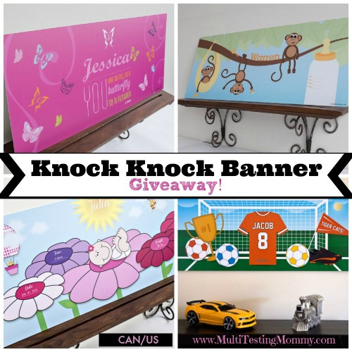 Knock Knock Banner Giveaway November