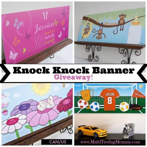 Knock Knock Banner Giveaway November