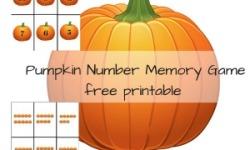Pumpkin Memory Game