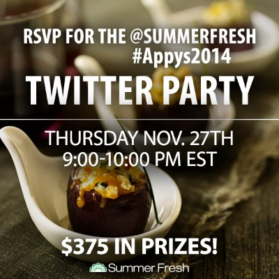 Appys2014 Summer Fresh Twitter Party