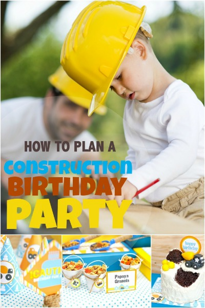 5 Star Construction Themed Party