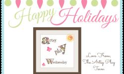 2014 Happy Holidays Artsy Play