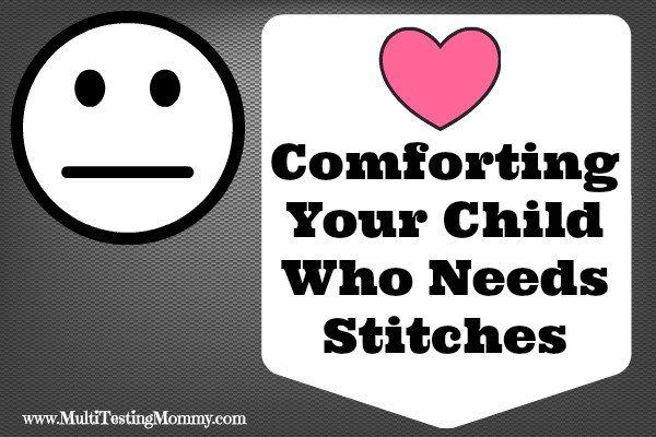 Comforting Your Child When They Need Stitches