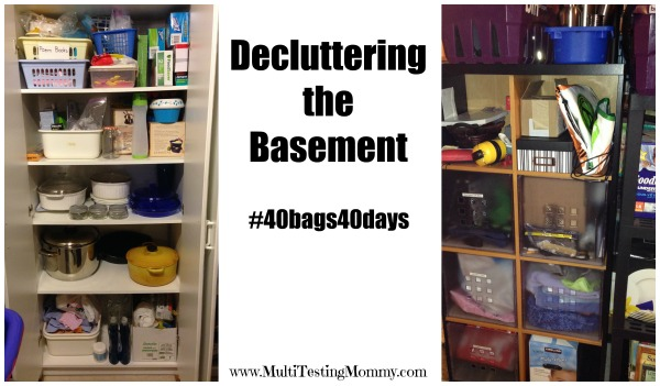 Declutter Zone-Basement