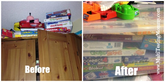 Decluttered Games