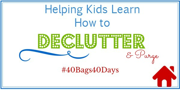 Helping Kids Learn How to Declutter