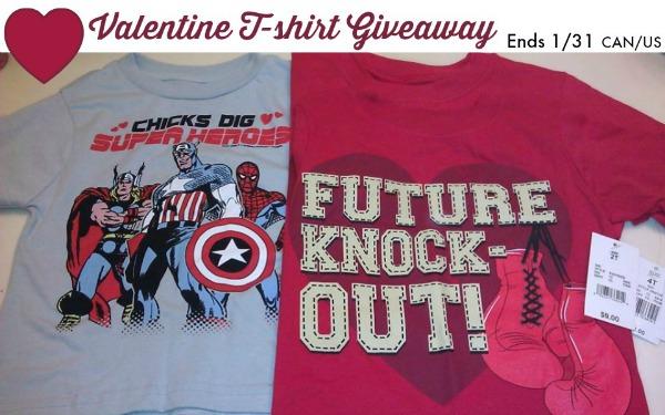 valentine tshirt giveaway