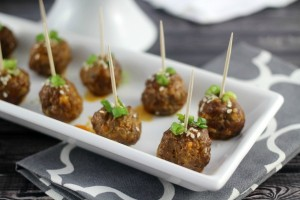 Thai Cocktail Meatballs