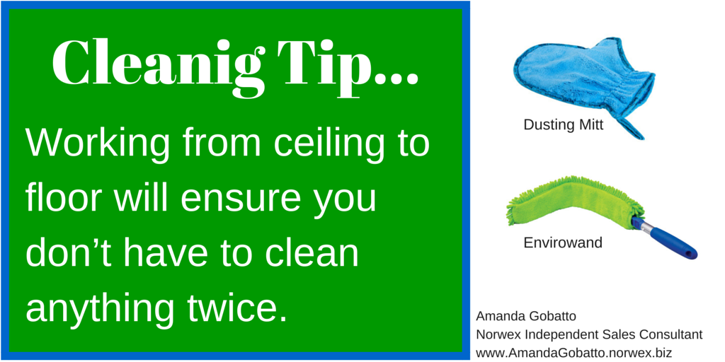 Cleaning Tip 1
