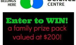 ontario science centre giveaway