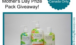 Ours Giveaway