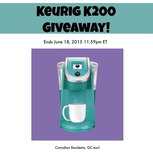 Keurig K200 Giveaway