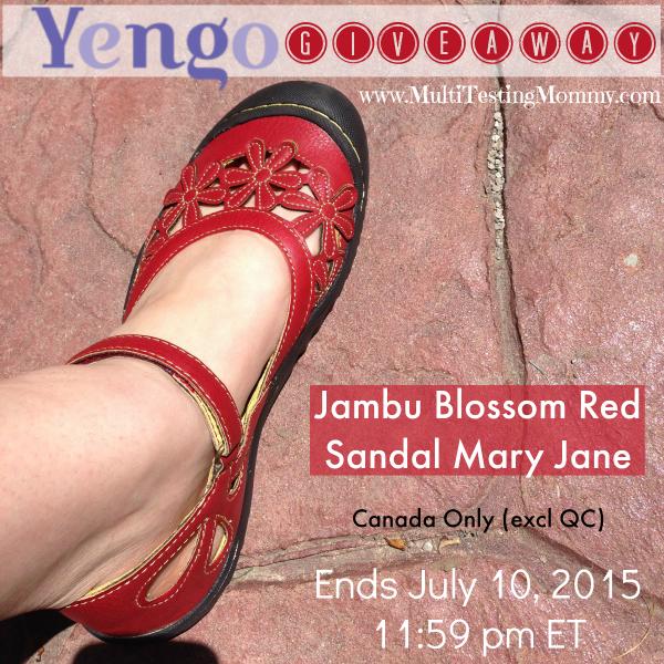 Yengo Summer Shoe Giveaway