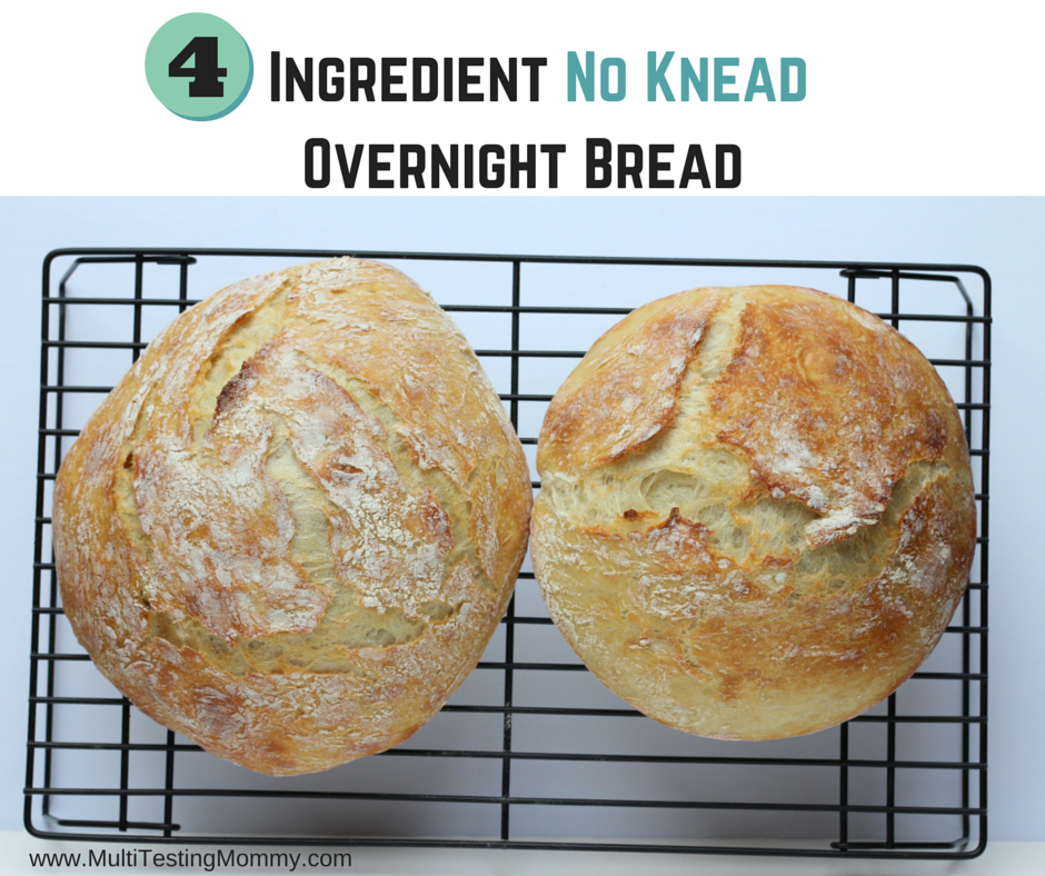 No Knead Overnight Bread