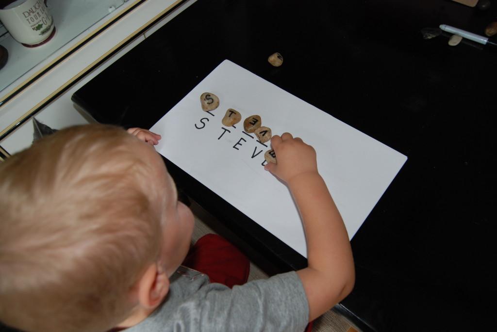 How to Teach Your Preschooler Their Name