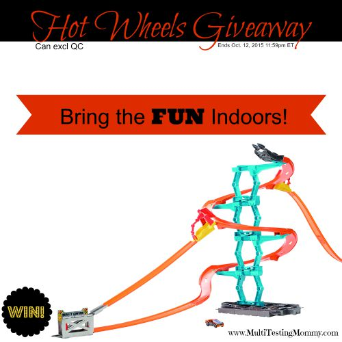 Hot Wheels Giveaway